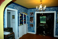 dining room - built in hutch