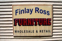 FINLAY ROSS sign
