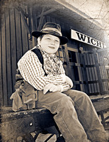 Cowtown Kids0294 tintype
