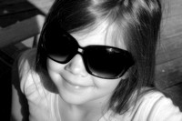 Tanganyika- too cool in shades Sidney bw